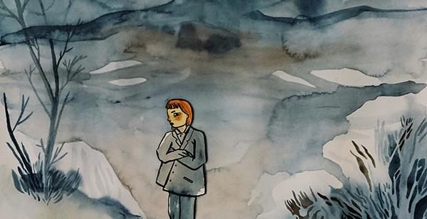 """Matilda Ruta, """"Vuxna är jätterädda för lejon"""", detalj"""